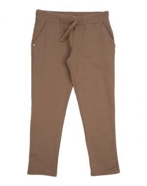Повседневные брюки MANILA GRACE DENIM. Цвет: хаки
