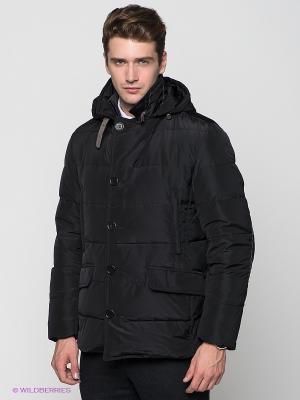 Куртка Al Franco. Цвет: черный