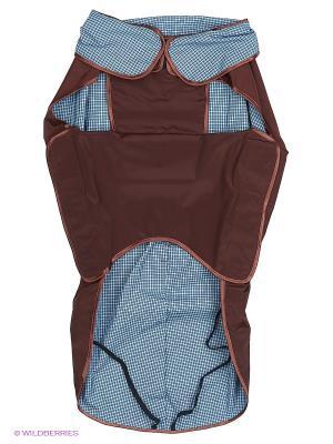 Попона холодная (спина 83 см.) с фиксатором ТУЗИК. Цвет: коричневый