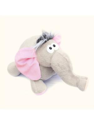 Мягкая игрушка Слоненок Лелик, Malvina. Цвет: серый