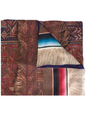 Классический шарф Pierre-Louis Mascia. Цвет: многоцветный