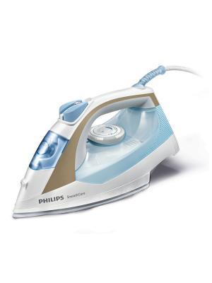 Паровой утюг Philips GC3569/20. Цвет: белый, бирюзовый