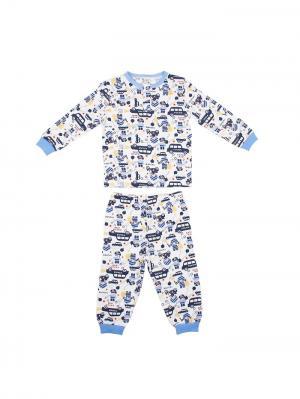 Пижама UMKA. Цвет: синий