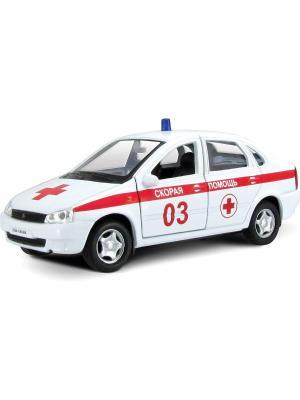 Машина LADA KALINA скорая помощь AUTOTIME. Цвет: белый
