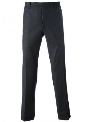 Классические брюки Al Duca D'Aosta 1902. Цвет: серый