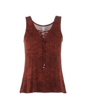 Пижама ANTIGEL. Цвет: коричневый