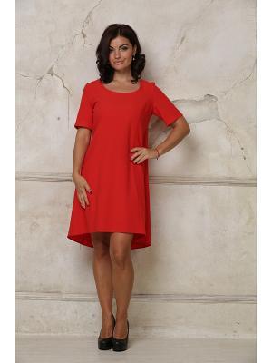 Платье AKIMBO. Цвет: красный