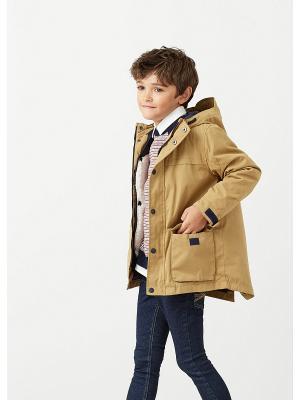 Куртка - COPITO Mango kids. Цвет: бежевый