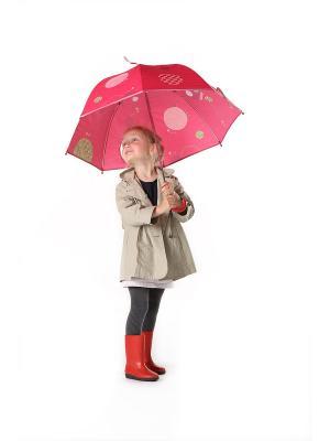 Зонт Божья коровка Лиза Lilliputiens. Цвет: розовый
