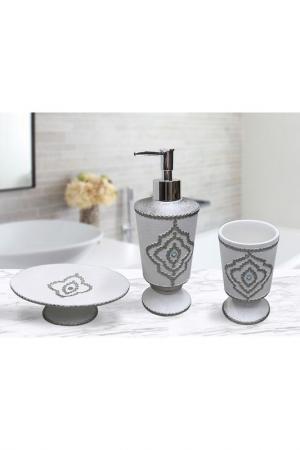 Набор для ванной Sofi De Marko. Цвет: молоко, серебро