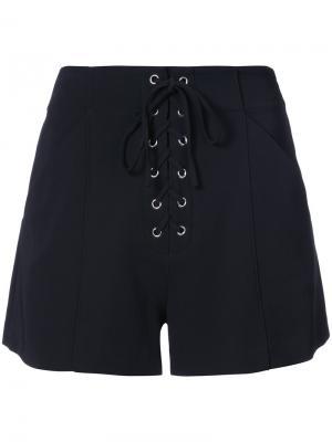 Короткие шорты A.L.C.. Цвет: чёрный