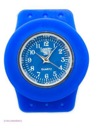 Часы Loomey Time  Синий-Черника. Цвет: синий