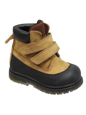 Ботинки TIFLANI. Цвет: черный, горчичный