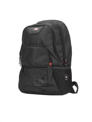 Рюкзак с отделением для ноутбука Continent. Цвет: черный