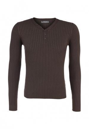 Пуловер New Brams. Цвет: хаки