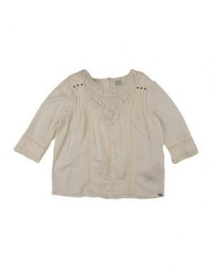 Блузка SCOTCH R'BELLE. Цвет: слоновая кость