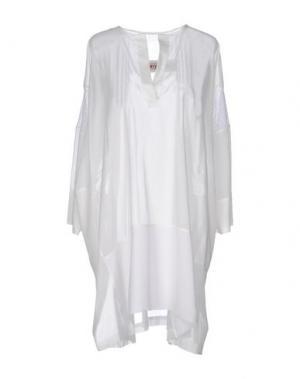 Короткое платье GENTRYPORTOFINO. Цвет: белый