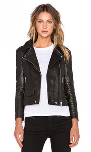 Куртка rider OAK. Цвет: черный