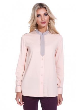 Рубашка Gloss. Цвет: розовый