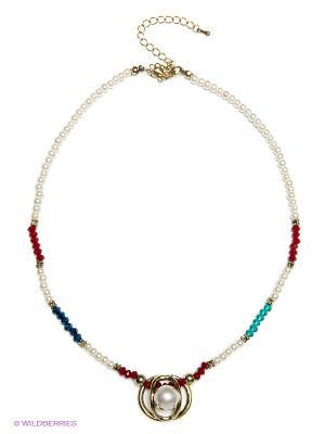 Ожерелье Модные истории. Цвет: белый