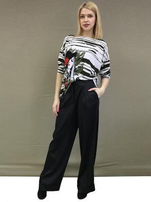 Брюки YFS Your Fashion Style. Цвет: черный