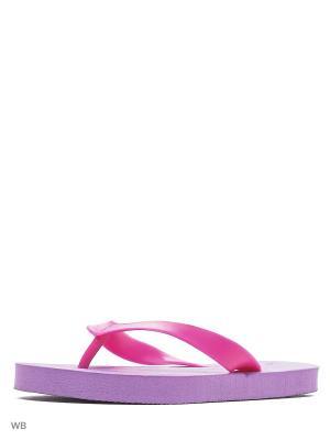 Шлепанцы Modis. Цвет: фиолетовый, розовый