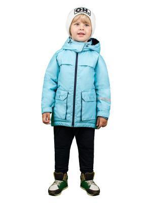 Куртка BOOM. Цвет: голубой