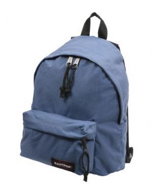 Рюкзаки и сумки на пояс EASTPAK. Цвет: грифельно-синий