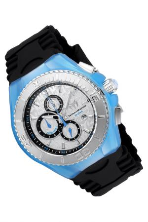 Watch TechnoMarine. Цвет: silver, black, blue