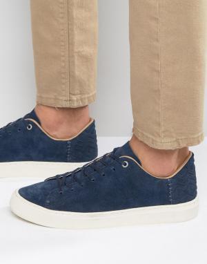 Toms Замшевые кроссовки Lenox. Цвет: синий