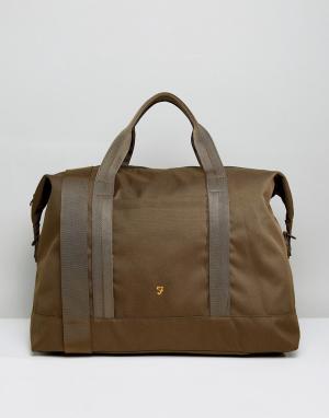 Farah Зеленая дорожная сумка Franks. Цвет: зеленый