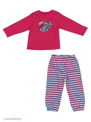 Пижама PELICAN. Цвет: бордовый
