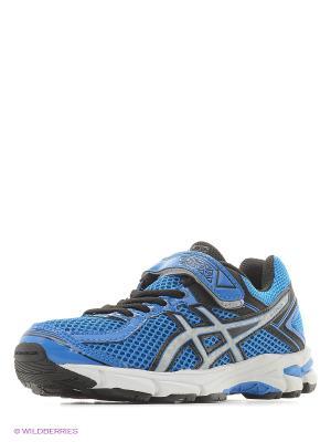 Кроссовки GT-1000 4 PS ASICS. Цвет: голубой, белый, черный