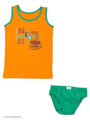 Комплект Sevim kids. Цвет: оранжевый