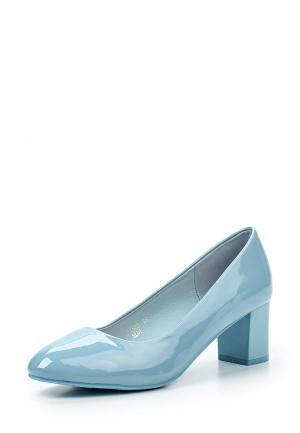 Туфли Sweet Shoes. Цвет: голубой