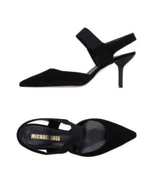 Туфли MICHAEL DASS. Цвет: черный