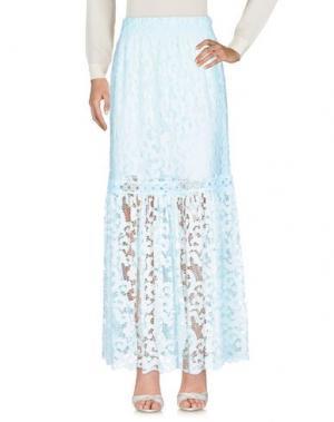 Длинная юбка TEMPTATION. Цвет: небесно-голубой