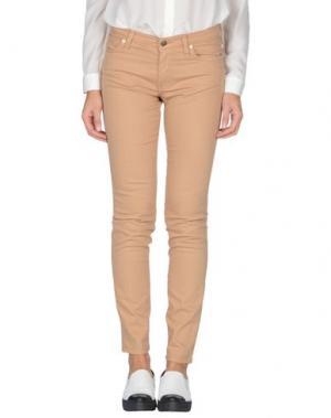 Джинсовые брюки BALLANTYNE. Цвет: верблюжий
