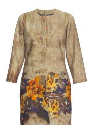 Летнее пальто  161409 Iya Yots. Цвет: разноцветный