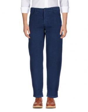 Повседневные брюки NICOLAS & MARK. Цвет: темно-синий