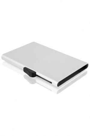 Картхолдер C-Secure. Цвет: silver