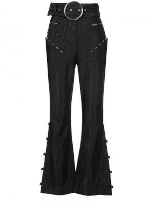 Расклешенные брюки Ottoman Neith Nyer. Цвет: чёрный