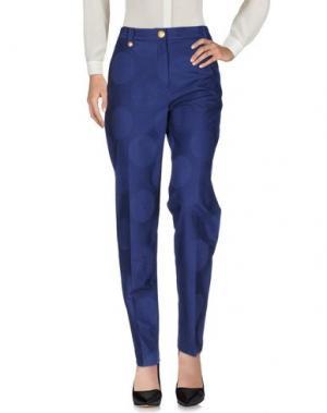 Повседневные брюки KENZO. Цвет: синий