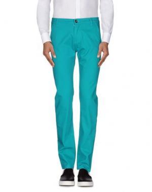 Повседневные брюки OUTFITTERS' NATION. Цвет: бирюзовый