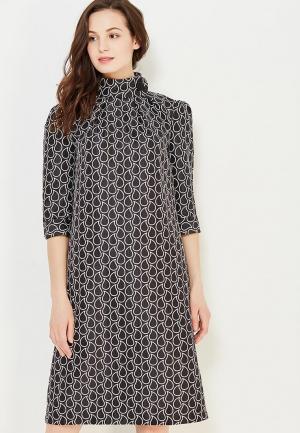 Платье MadaM T. Цвет: черно-белый