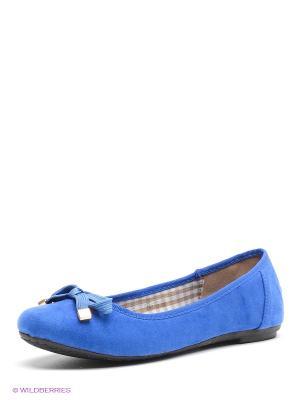 Балетки Dino Ricci. Цвет: синий