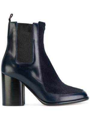 Ботинки челси с панельным дизайном Paul Smith. Цвет: синий