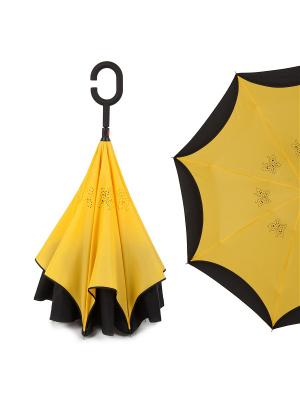 Зонт Flioraj. Цвет: желтый