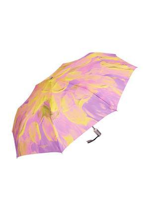 Зонт Slava Zaitsev. Цвет: фиолетовый, желтый, розовый