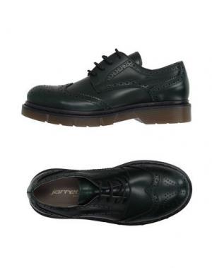 Обувь на шнурках JARRETT. Цвет: зеленый